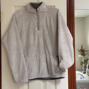 North face Soft and snuggly 1/4 zip pullover